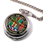 Chattan Scottish Clan Pocket Watch