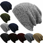 Unisex Men Women Knit Baggy Beanie Winter Hat Ski Slouchy Chic Knitted Cap GOG