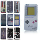 for iPhone 6S 7 - Ultra Thin Soft TPU Rubber Case Cover Gray Gameboy Player