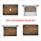 Red Black White Home Decor Old Wood Full Set Laptop Decal Sticker Vinyl Skin For Macbook Mac Air Pro Retina Wholesale Contemporary Home Decor