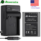 2000mAh Replacement BLN-1 Battery & Charger For Olympus OM-D Series EM-5 Camera
