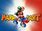 NINTENDO MARIO KART VIDEO GAME-Photo-Print-Poster or TShirt Transfer