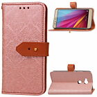 For HUAWEI Honour 5X Luxury European Style Flip Cover Wallet Card Leather Case