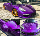 All Sizes Metallic Glossy Pearl Vinyl Purple For Whole Car Wrapping Film Sticker