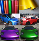Premium Satin Matte Chrome Metallic Vinyl Wrap Sticker Sheet Film Bubble Free