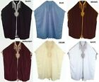 MEN'S FREE SIZE THOBE TUNISIAN TRADITIONAL JUBBA ETHNIC DISHDASH 6 COLOURS