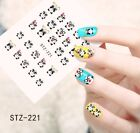 1 Sheets Nail Art 3D Stickers Cartoon Design Manicure Tips Decal Decorations