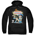 Betty Boop Welcome Las Vegas Pullover Hoodies for Men or Kids $37.3 USD