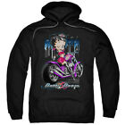 Betty Boop City Chopper Pullover Hoodies for Men or Kids $37.3 USD