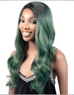 ORADELL MOTOWN TRESS BRANDY HITEMP LONG WAVY PAGES WIG W/ SIDE BANGS OL 23""
