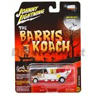 THE MUNSTERS BARRIS KOACH CHASE CAR 1:64 DIECAST BY JOHNNY LIGHTNING JLSS002 WHT