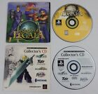 SquareSoft Collector's CD Demos & Legend of Legaia Demo Disc Sony PlayStaion PS1