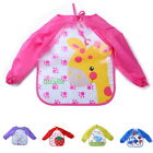 Classic Baby Waterproof Toddler Long Sleeve Kids Feeding Art Smock Bib Apron