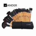VANDER Multi-Color 12 18 24 32pcs Professional Beauty Makeup Brushes Set + Bag
