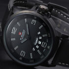 Luxury Leather Strap Analog Men's Watch Wrist Military Men Watches Sports Casual