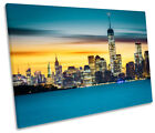 Statue of Liberty New York Print CANVAS WALL ART Picture Framed