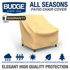 Patio Chair Cover, Outdoor Garden Furniture Dust Rain Uv Protection