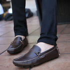Men's Genuine Leather Casual Slip On Loafer Moccasins Driving Shoes US6-US11.5