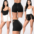 USA Fashion Women Summer Ripped Womens High Waisted Denim Shorts Jeans Hot Pants