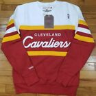 Cleveland Cavaliers Mitchell & Ness NBA Head Coach Crew Sweatshirt Burgundy on eBay