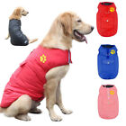 Waterproof Dog Winter Clothes for Small Medium Large Dogs Pink Coat Warm Jacket