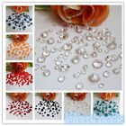 850pcs Mix 4 Sizes Acrylic Diamond Confetti Wedding Party Crystals Table Scatter
