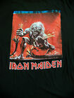 """Vintage 1993 Iron Maden T Shirt Mens L """"A Real Live One"""""""