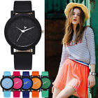 Womens Fashion Watch Ladies Girls Faux Leather Analog Quartz Casual Wrist Watch