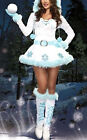 Vestito Donna Costume Babbo Natale Cosplay Hostess Christmas dresses HOS042 P