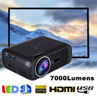 7000 Lumens Mini HD 1080P LED Proyector Multimedia Home Theater Cinema HDMI BT