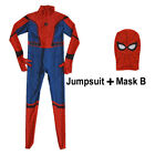 Kids Boys Spider-man Homecoming Costume Child Party Christmas Superhero Suit