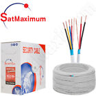 SHIELDED ALARM Security Cable Solid Stranded 18/2 18/4 22/2 22/4AWG 500ft 1000f