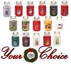 🎄NEW🎄 Yankee Candle LARGE Jar Candle 22 Oz  🎄 25 % OFF 🎄ORDER BY DEC 18th🎄