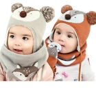 3Pack of Hat Cap Gloves Warm Scarf Unisex Knit For Baby Infant Girl Boy