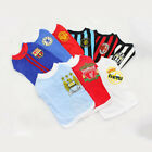 Dog Summer Vest T Shirt Pet Puppy Football Club Soccer Jersey Costume Supporter