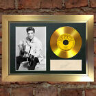 GOLD DISC ELVIS PRESLEY Signed CD Mounted Repro Autograph Print A4 131