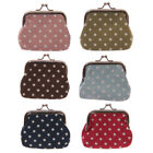 Girls Ladies Dotty Oil Cloth Coin Purse Christmas Stocking Fillers