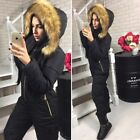 Women Winter Waterproof Ski Snowboard Outdoor Sport Wear Boiler Suit Jumpsuit #H