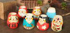 Japanese Kokeshi Small Wooden Container/Jar for Toothpicks / Lipbalm by Kokechi