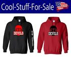 New Jersey Devils Hockey Pullover Hooded Sweatshirt $33.59 USD on eBay