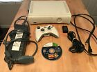 XBOX 360 console, 1 game ,1 controller with a rechargeable battery, & hdmi cord