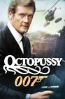 OCTOPUSSY JAMES BOND 007 MOVIE-Photo-Print-Poster or TShirt Transfer £1.95 GBP