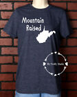 Unisex T-Shirt Vinyl Lettering - West Virginia Pride Mountain Raised Medium