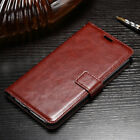 VINTAGE THIN LEATHER FLIP WALLET COVER BACK CASE FOR ASUS ZENFONE 5