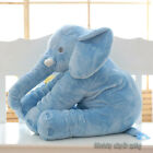 Elephant Soft Children Pillow Calm Doll Toys Sleep Bed Car Seat Cushion 50X60cm