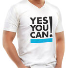 yes you can Men's V-Neck Shirt