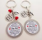 Christmas gift S.K SET Mummy & Daddy of an Angel Angel baby remembrance gift