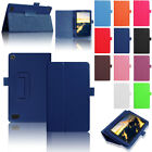 For Amazon Kindle Fire HD 10 2017 7th Gen Magnetic PU Leather Stand Case Cover
