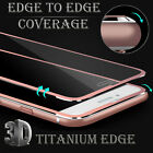 Titanium Tempered Glass Screen Protector For Iphone 5/6/7/8 Plus X