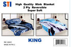 Heavy Thick Plush Korean Style Luxury Super Soft Mink Blanket ,Two Play Blankets